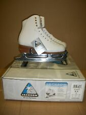 JACKSON FREESTYLE HEAT MOLDABLE LEATHER ULTIMA MARK IV BLADE 6.5 B FIGURE SKATE