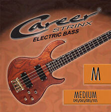 E-Bass Saiten: Career M (045-105) medium