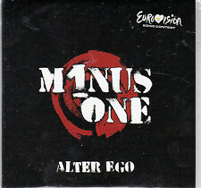 CD CARDSLEEVE COLLECTOR 1T CHYPRE Eurovision 2016 Cyprus Minus One ALTER EGO