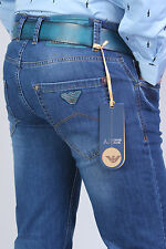 BRAND NEW AJ JEANS  COMPLETE WITH BELT d.g:MEN'S SIZE 30