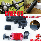 2 x Upgraded CREE Q5 7W LED Cycling Mountain Bike Bicycle Torch Head Front Light