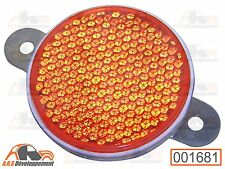 CATADIOPTRE ROUGE (RED REFLECTOR) NEUF pour Citroen 2CV AK MEHARI DS  -1681-