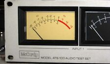 McCurdy ATS-100 Extended Range VU/PPM Audio Level Meter