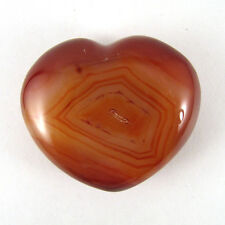 VERY NICE COLOR  Carnelian Heart -  Madagascar -   ECar152