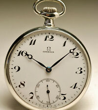 Ancienne montre gousset OMEGA 1920 vintage pocket watch