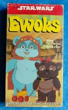 EWOKS Volume 1 VHS Tape Star Wars Trilogy Animated Collection 1990