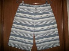 NWT MENS AMERICAN EAGLE STRIPED CLASSIC FIT SHORTS SIZE 30