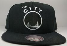 Golden State Warriors Mitchell & Ness Vintage The City Black W Wool Snapback NBA