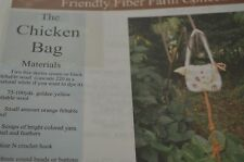 The Chicken Bag Purse Felted Crochet All Day Pattern