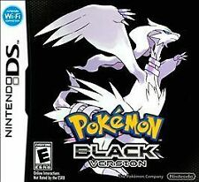 Pokemon: Black Version  (Nintendo DS, 2011) GAME MINT with SAVED DATA & FREE S/H