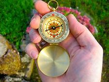 Wunderschöner Kompass Golden Compass Bussola Compas See Land Luft Navigation