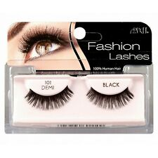 Ardell Fashion Lashes, Demi Black [101] 1 Pair (Pack of 3)