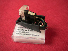 SHURE M-75 TYPE 2, M-75E ,used cartridge in TK-120 headshell With  Stylus