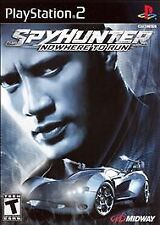 Sony Playstation PS2 Game SPY HUNTER: NOWHERE TO RUN