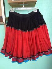 80's DKNY gyspy Skirt