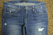 JOE'S THE BESTFRIEND EASY STRAIGHT JEANS 28X33 NWT$189 Stretch Sexy Fit!Distress