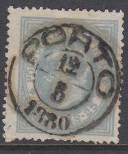 PORTUGAL:1880 25 reis bluish-grey perf 13 1/2 SG187 used