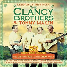 The Clancy Brothers & Tommy Makem 2CD The Definitive Collection Vol1 /52 Tracks