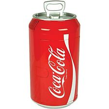Coca-Cola Can Refrigerator Compact Mini Red Countertop Coke Soda Retro Fridge
