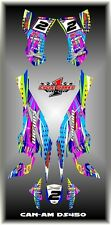 Can-Am DS 450 X mx  SEMI CUSTOM GRAPHICS KIT DOTTED Race quad