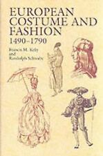 European Costume and Fashion 1490-1790 (Dover Fashion and Costumes)-ExLibrary