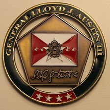 Presented by the 33rd Vice Chief of Staff of the Army Challenge Coin