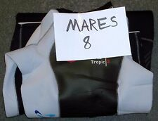 Mares SIZE 8 3mm Reef Men's Full Wetsuit Surfing Diving Snorkeling Tropic 3 NWT
