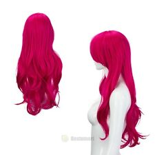 Women Lady Long Hair Curly Straight Wavy Lolita Anime Cosplay Party Full Wigs