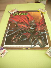 SPAWN IN THE DEMON'S HAND CAPCOM ARCADE B1 SIZE OFFICIAL POSTER!
