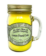 Lemon Pound Cake Scented Candle in 13 oz Mason Jar by Our Own Candle Company