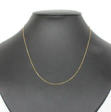 18K / K18 Yellow Gold YG Venetian Chain Necklace 45cm 1.49g #A1021