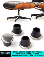 GLIDES FOR HERMAN MILLER EAMES STRAIGHT RUBBER BOOT GLIDES 671 OR ESU FEET