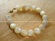 Feng Shui - 8mm High Grade Shell Charm Bracelet