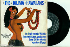 "the KILIMA HAWAIIANS ""On the Beach + 3 - HOLLAND ARTONE EP 6733 PS 7"""