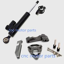 Steering Damper Stabilizer Mount Bracket Kit For SUZUKI GSXR 600 750 GSR750(K4)