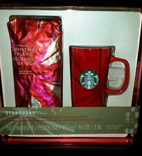2014 Limited Edition Starbucks Christmas Blend 30th Anniversary Gift Set