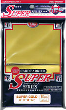 80 KMC Super Gold CARD BARRIER Japanese Deck Protectors MTG MAGIC POKEMON
