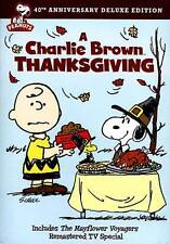 A Charlie Brown Thanksgiving (DVD, 2013, 40th Anniversary) NEW
