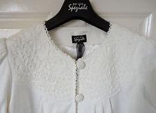 Per Una Speziale Pure Cotton Cornelli Jacket, Ivory, size 16, BNWT, Was £79