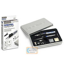 DREMEL Multi Power Tool 2000-6 Versatip Gas Torch SALDATORE & KIT di saldatura