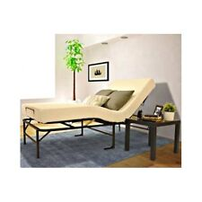 ADJUSTABLE TWIN XL BED FRAME & MEMORY FOAM MATTRESS extra long head foot adjust