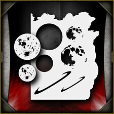 Moon / Planet Set Airbrush Stencil Template Airsick