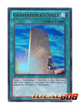 YUGIOH x 3 Gravekeeper's Stele - LCJW-EN261 - Ultra Rare - 1st Edition Mint