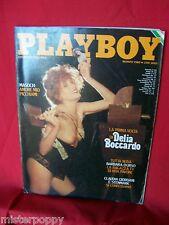 PLAYBOY 3 1980 DELIA BOCCARDO Barbara D'Urso Sexy nude Magazine