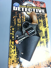 DETECTIVE JR TOY GUN PISTOL HOLSTER  WITH ORANGE TIP LENGTH 6""
