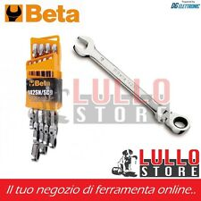 SERIE KIT DI 9 CHIAVI COMBINATE A CRICCHETTO SNODATE MOD.142SN/SC9 BETA TOOLS