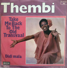 "7"" 1977 PARTY KULT IN VG+++ ! THEMBI : Take Me Back To The Old Transvaal"
