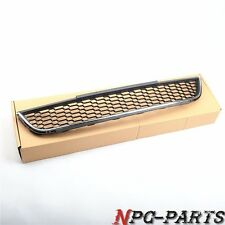 W/ Chrome Front Face Lower Grill Honeycomb Grille FOR VW JETTA MK6 SEDAN (Base)