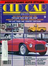 1978 Old Car Illustrated Magazine: 1910 Rolls-Royce Roadster/1948 Packard