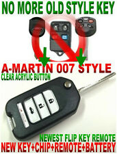 STYLISH FLIP KEY REMOTE FOR FORD EXPLORER TRANSPONDER CHIP KEYLESS ENTRY CLICKER